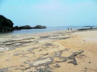 星の砂の海。