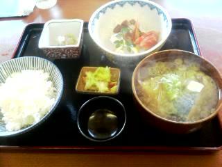さしみ定食☆